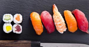 Sushi hidden calories